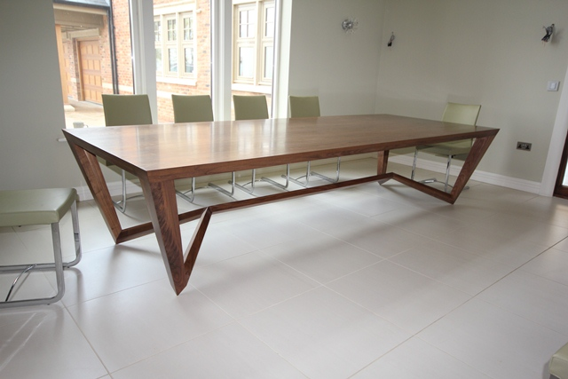 Dining table furniture bespoke dining tables glass Bespoke glass furniture