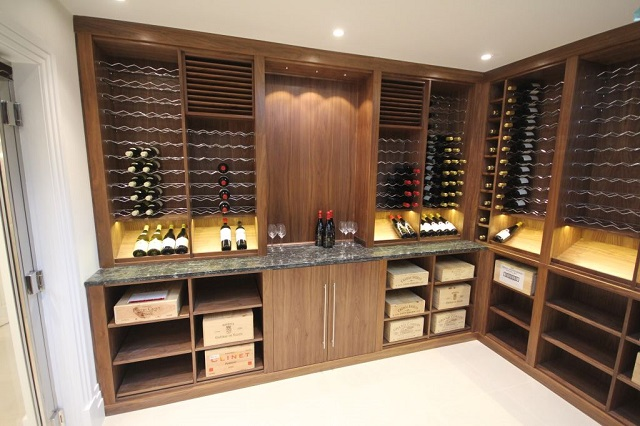 Bespoke luxury wine cellar wine storage Bespoke Luxury Furniture